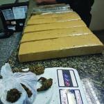 Cinco são detidos com 11 kg de maconha em Cabo Frio e São Pedro da Aldeia