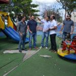 Comissão de Fiscalização das Praças da Câmara de Macaé iniciou visitação das localidades nesta quinta-feira, 21