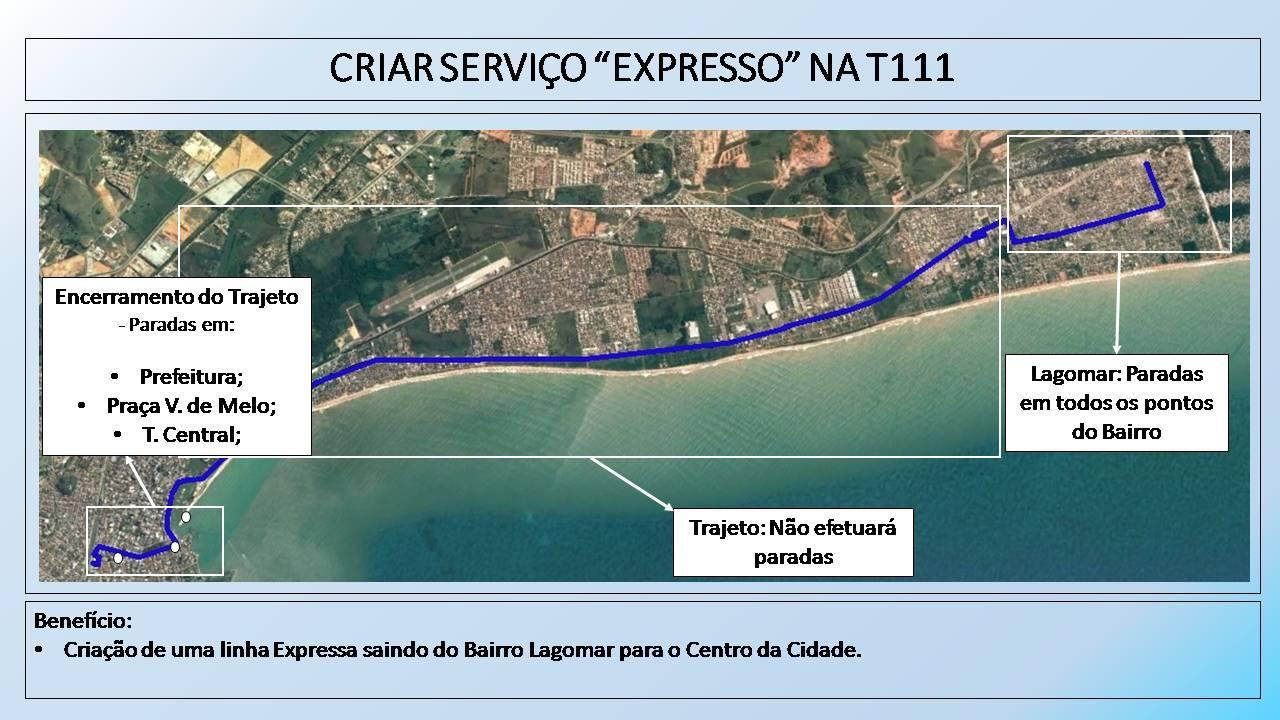 Prefeitura de Macaé anuncia nova linha de ônibus expresso Centro-Lagomar