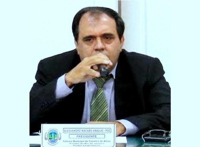 Ministério Público do Rio cumpre mandado de prisão contra ex-presidente da Câmara de Casimiro de Abreu