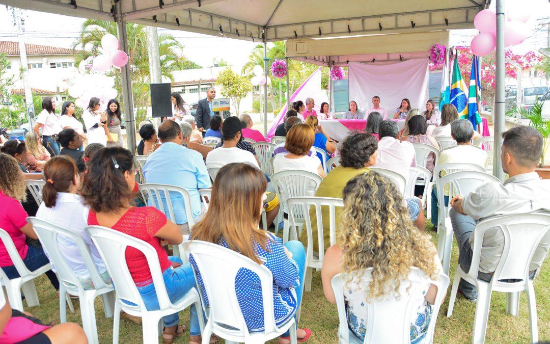 Em Rio das Ostras, Centro de Reabilitação realiza trabalho de conscientização sobre câncer de mama