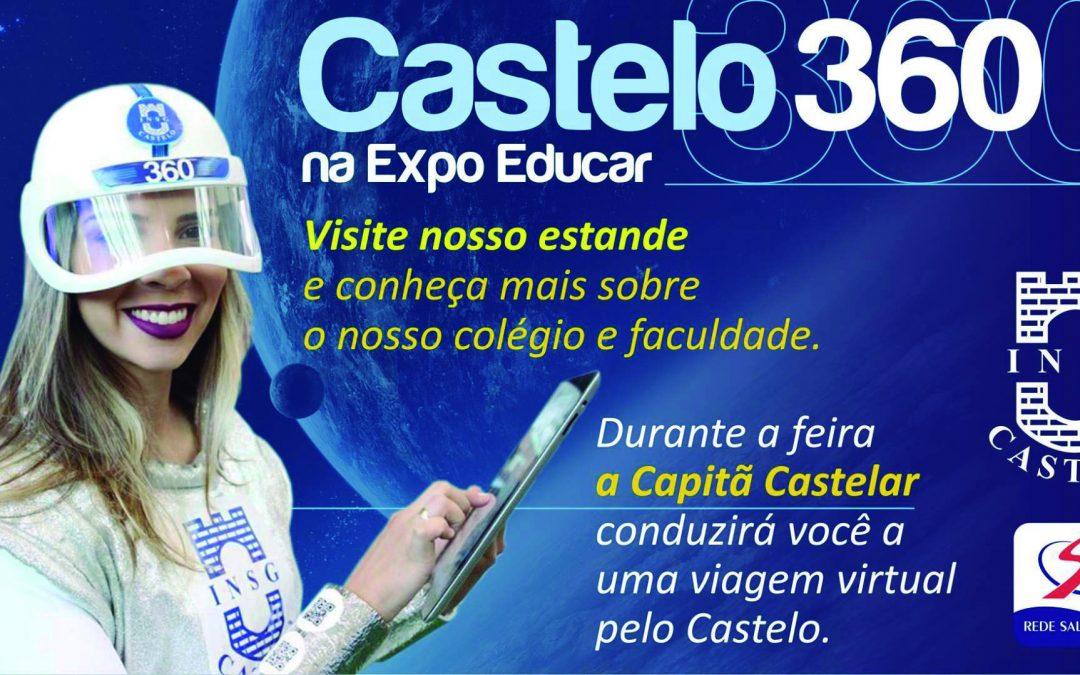 INSG/Castelo inova na Expo Educar 2017, em Macaé