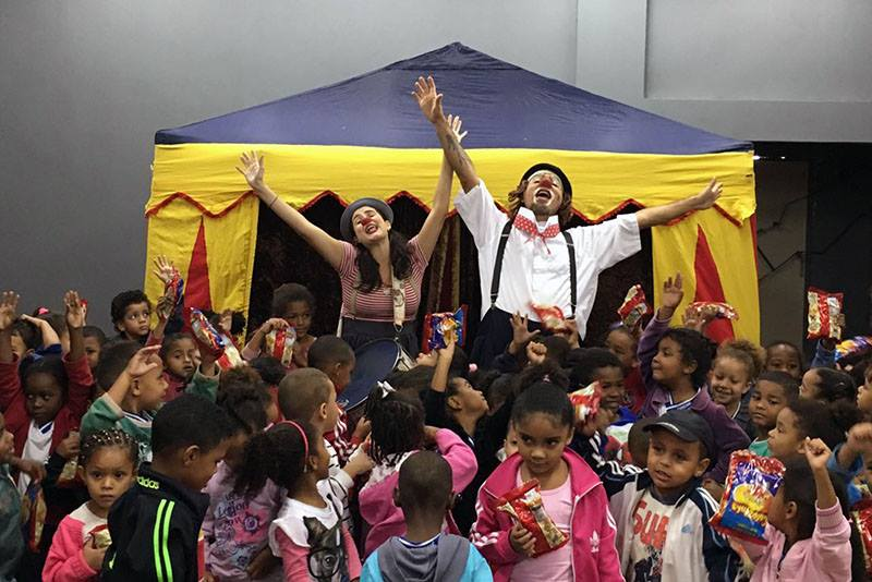 É nesta quinta-feira (12), Dia das Crianças, abertura do Kids Fun Avenue com várias atrações em Macaé