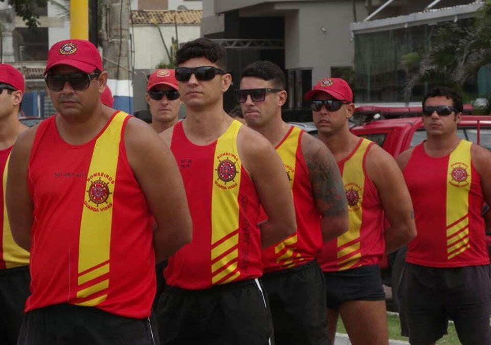 Corpo de Bombeiros inicia Operação Verão 2018 nas praias da região