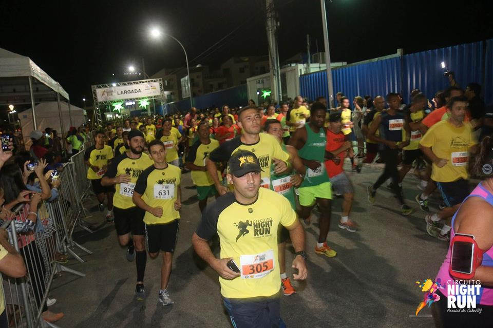 Circuito Night Run : Circuito night run lagos será realizado neste sábado na