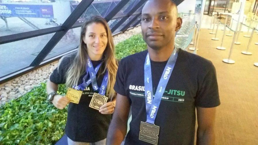 Atletas de Macaé sobem ao pódio no Brasilian Internacional Open de Jiu-Jitsu, em Brasília