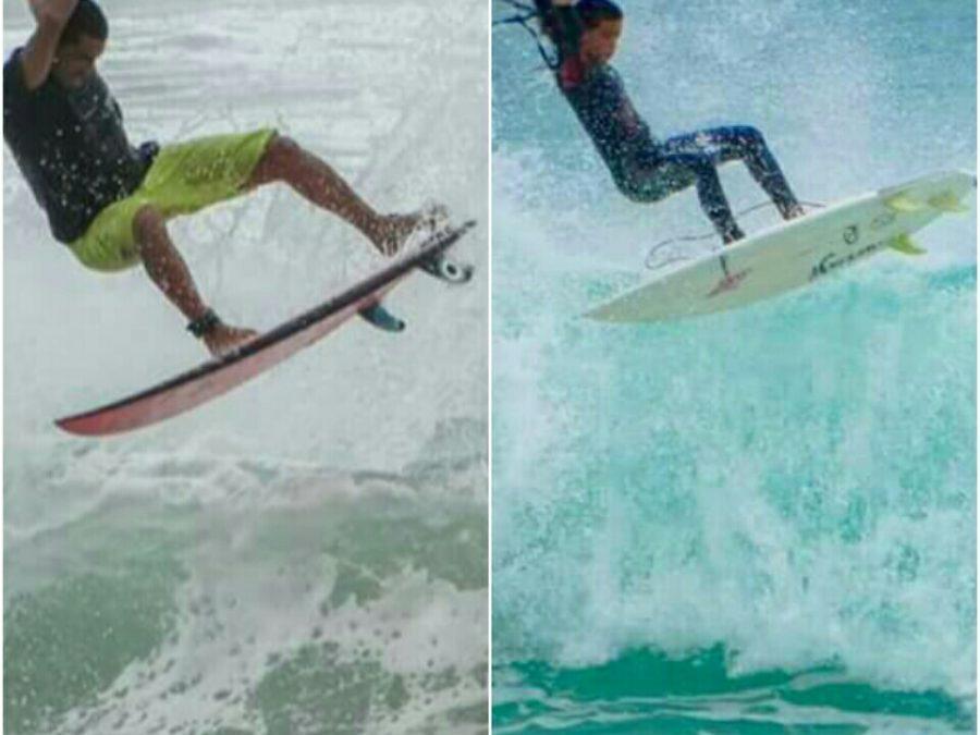 """""""Família mosquito"""" conquista quatro pódios no Circuito Jonasake Aberto de Surf"""