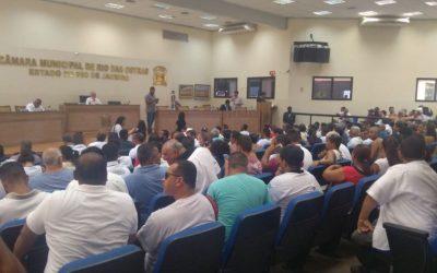 Motoristas de vans derrubam votação de projeto para regulamentação do transporte público em Rio das Ostras