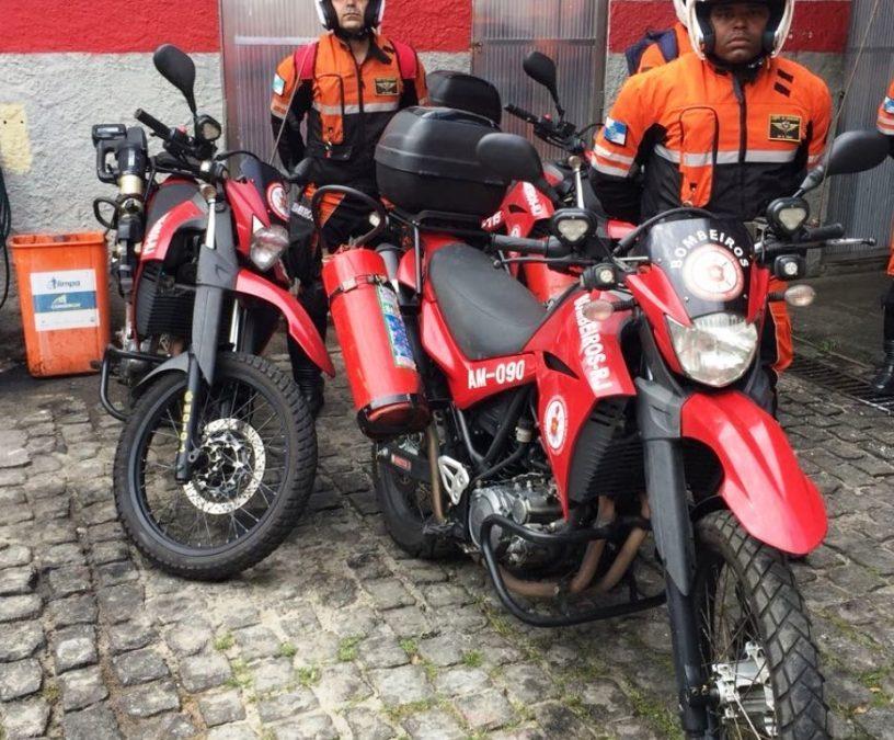 Motos de apoio irão agilizar salvamentos na Região dos Lagos
