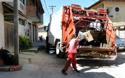 Distrito de Tamoios, em Cabo Frio, tem novo cronograma de coleta de lixo