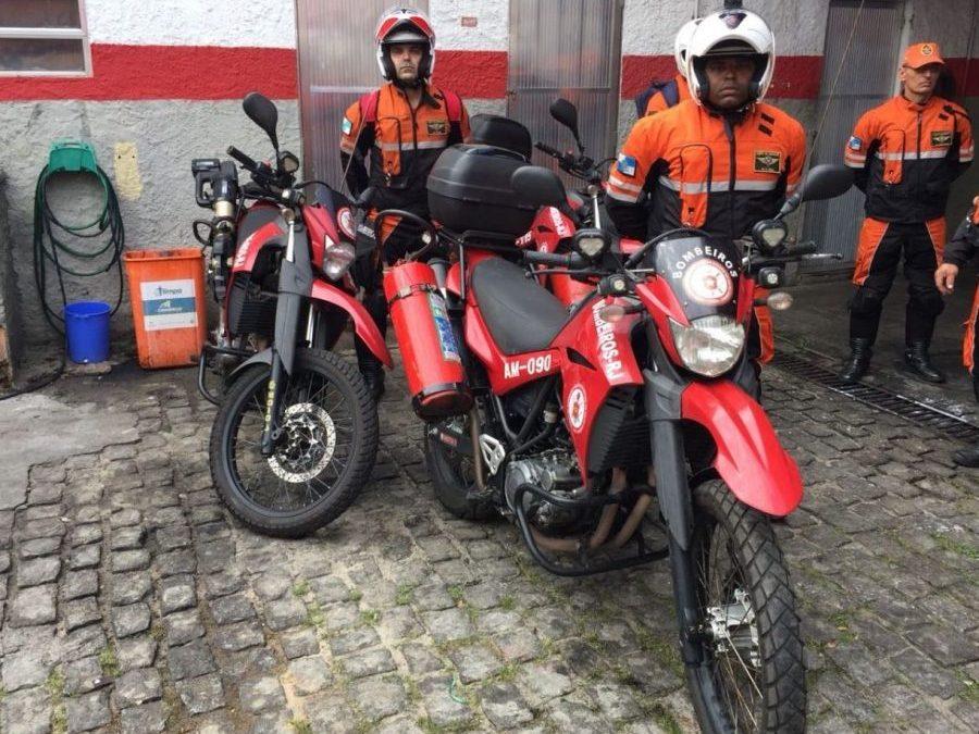 Duas motos serão utilizadas para agilizar trabalho do Corpo de Bombeiros na Região