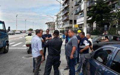 Praia do Forte recebe vistoria técnica para garantir segurança no Carnaval 2018