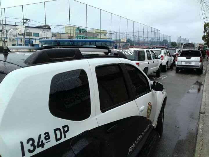 Polícias Civil e Militar realizam operação contra o tráfico no Lagomar