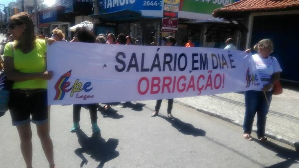 Educação de Cabo Frio aprova greve por tempo indeterminado